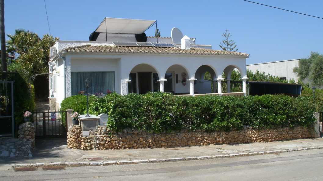 Detached Villa with Sea Views For Sale Porto Cristo Frontage
